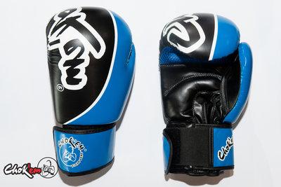 PU Handschoenen Get'em Blauw/Zwart