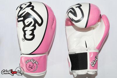 PU Handschoenen Hit'em Series Roze / Wit