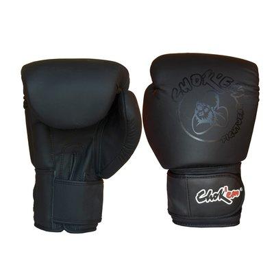 Lederen Handschoenen Power Line Mat Zwart